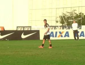 Ibson treino Corinthians (Foto: Diego Ribeiro)