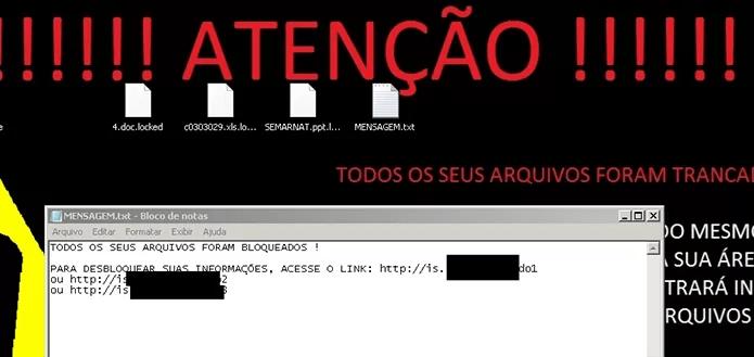 Golpe brasileiro imita atualização do Flash para sequestrar arquivos (Foto: Reprodução/Kaspersky Lab))