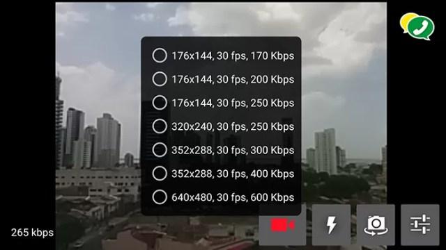 Qualidade da transmissão pode ser ajustada manualmente (Foto: Reprodução/Paulo Alves)