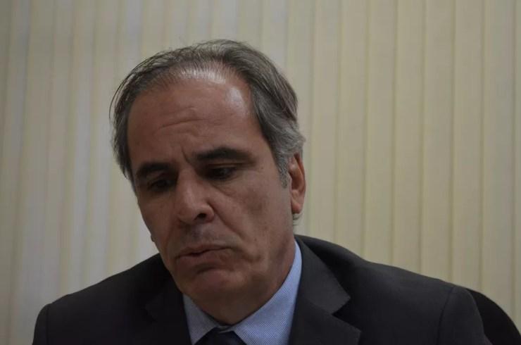 O promotor de Justiça Marcus Túlio Nicolino, de Ribeirão Preto (SP) — Foto: Rodolfo Tiengo/G1