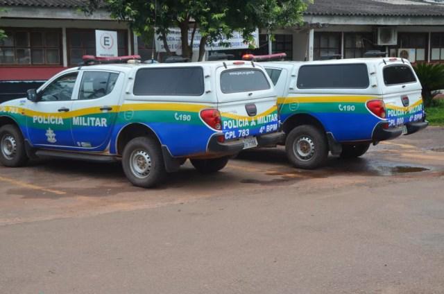 Suspeito foi conduzido à Delegacia da Polícia Civil de Cacoal (Foto: Magda Oliveira/G1)