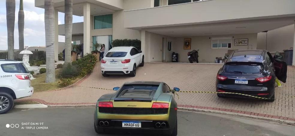 Empresário morto a tiros em Valinhos era conhecido pelos carros de luxo — Foto: Polícia Militar