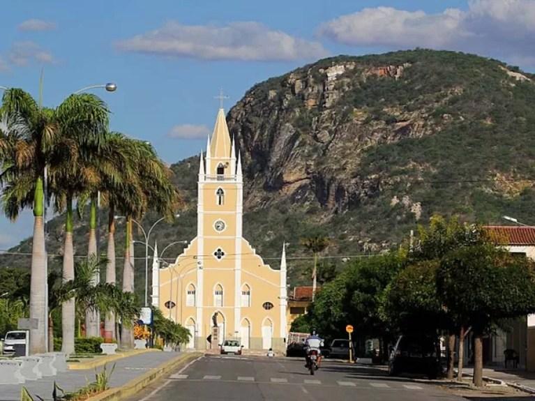 Cidade de Parelhas, na região Seridó potiguar (Foto: Canindé Soares)