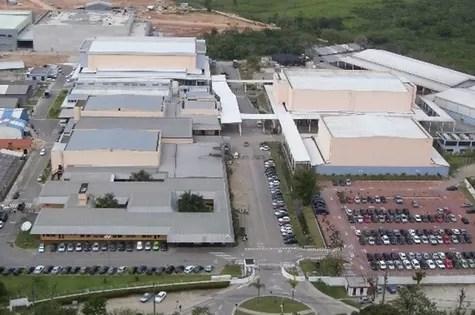 Vista aérea do Recnov (Foto: Reprodução)