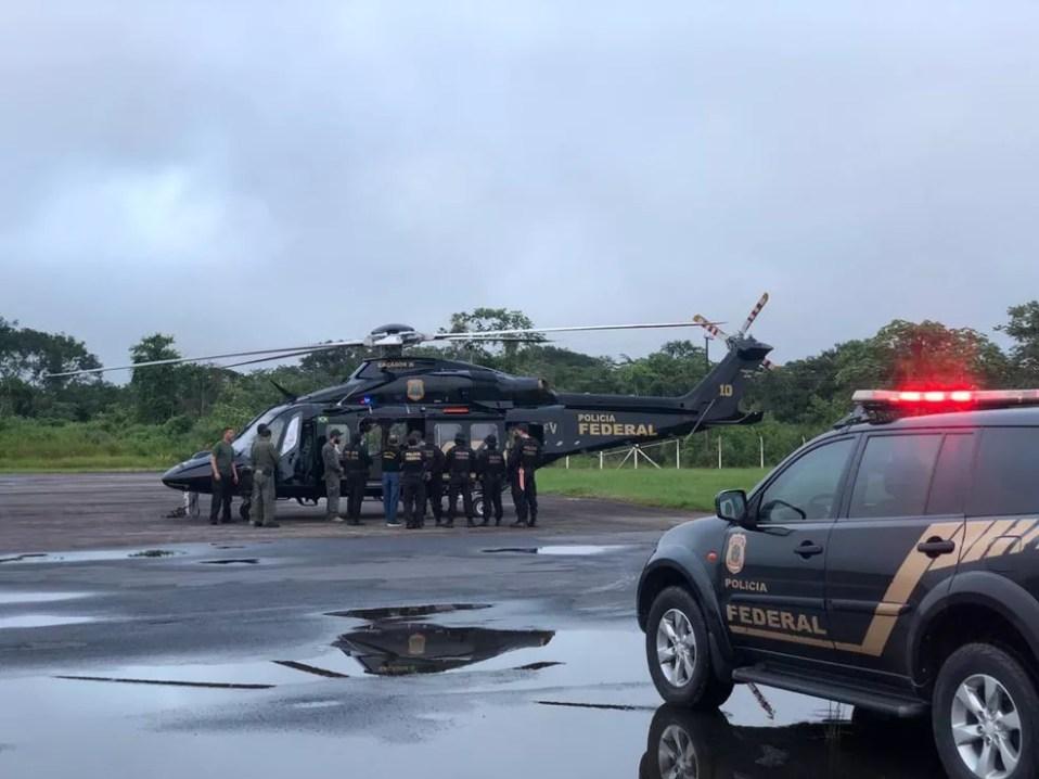 """Operação """"Olho da Providência"""" foi deflagrada nesta quarta-feira (10) no Acre — Foto: Arquivo/PF"""