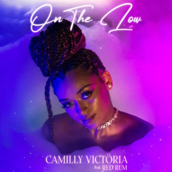 Capa do single 'On the low', de Camilly Victória com Red Rum — Foto: Lili Vilhena com arte de Átila Britto