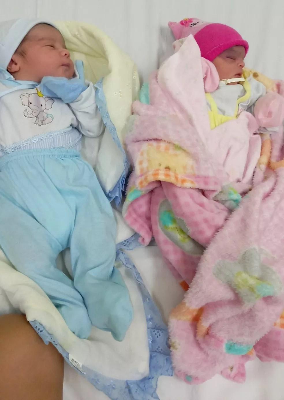Jhonny Pietro e Alice Vitória — Foto: Arquivo pessoal