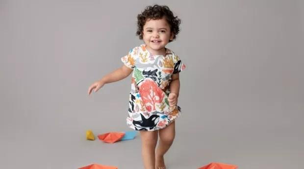 O foco da marca são roupas de crianças de zero a dois anos (Foto: Divulgação)