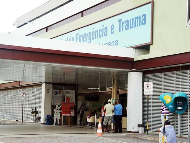 Adolescente esfaqueada após tentar pegar celular com ex-namorado está internada no Hospital de Emergência e Trauma de João Pessoa (Foto: Maurício Melo/G1/Arquivo)