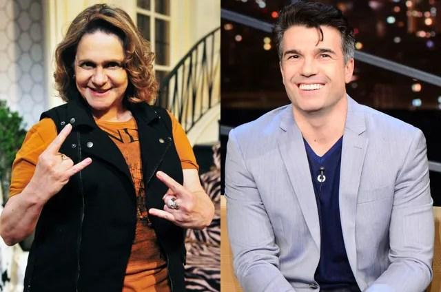 Fafy Siqueira e Jarbas Homem de Mello (Foto: TV Globo)