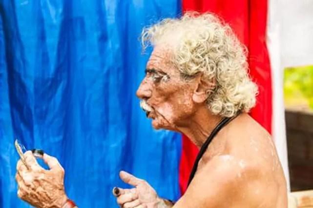 Magnólio de Oliveira, grande artista circense vai deixar saudades (Foto: Rerodução/Facebook)