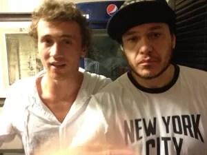 Polessi conversou com Chorão no camarim antes do último show com o líder da banda (Foto: Victor Polessi/Divulgação)
