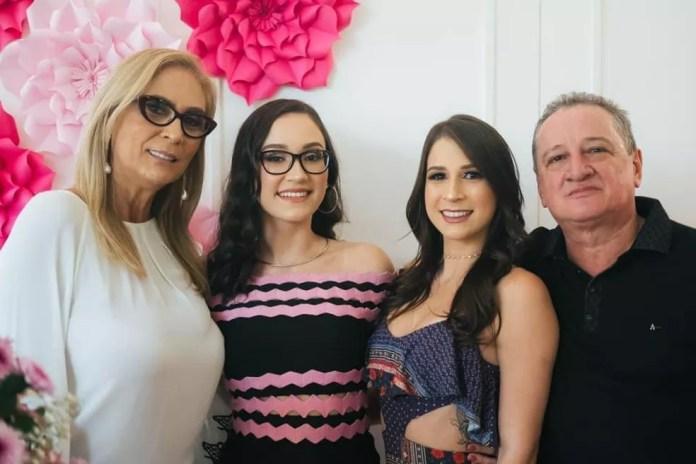 Monique Haddad deixa o marido e duas filhas — Foto: Myllena Haddad/Arquivo pessoal