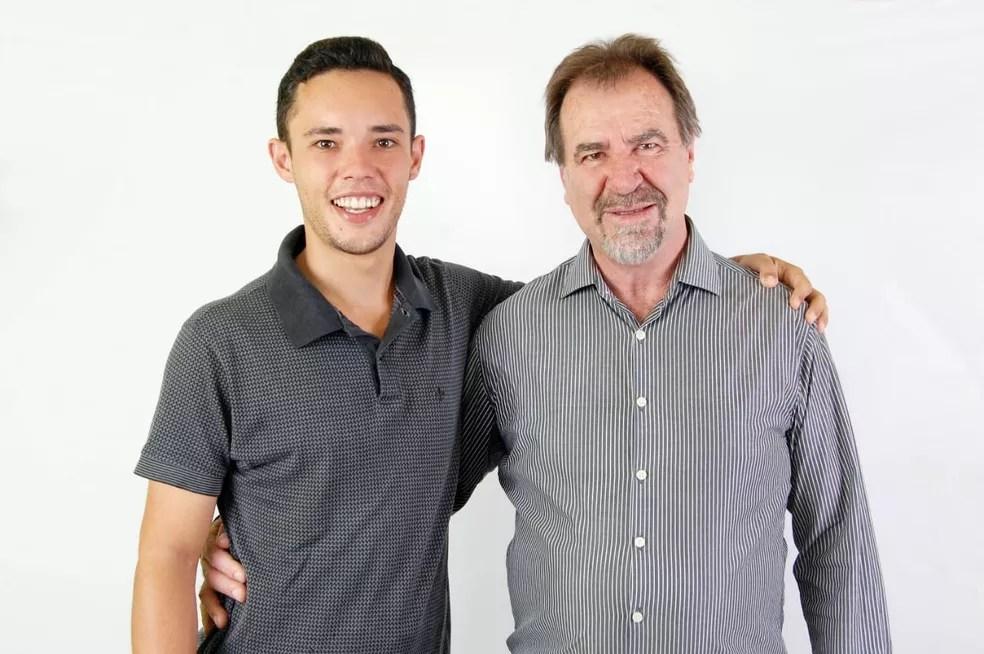 Julio Tomazela (PSDB) foi eleito prefeito de Conchas (SP) e tem Nilson Merlin (PSDB) como vice — Foto: Divulgação