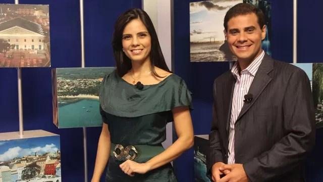 """Apresentadores do """"Rede Bahia Revista"""", programa local que deixou de ser exibido ontem(18)"""