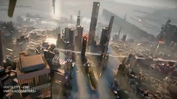 Cena do game 'KillZone' para PlayStation 4 (Foto: Reprodução)