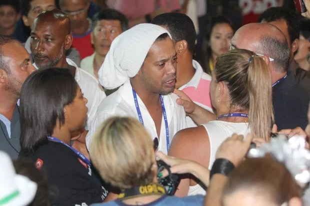 Ronaldinho Gaucho (Foto: agnews)