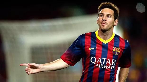 Messi gol Barcelona jogo Santos (Foto: Reuters)
