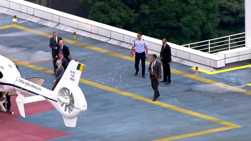 Michel Temer tem alta nesta segunda-feira (Foto: Reprodução/TV Globo)