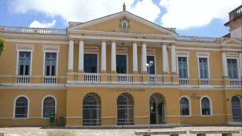 Arquidiocese da Paraíba, no Centro de João Pessoa — Foto: TV Cabo Branco/Reprodução