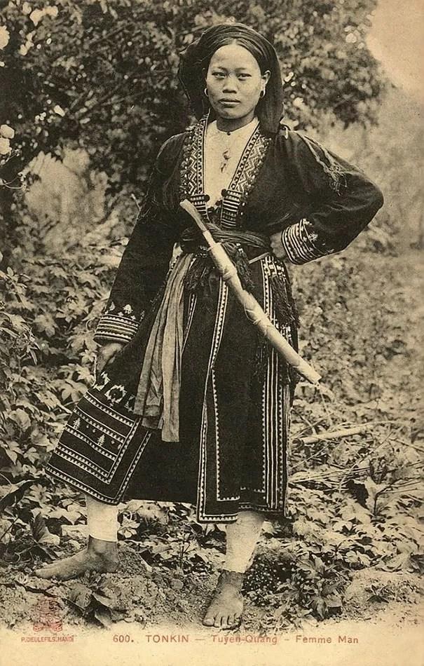 Jovem tonquim, povo da região sul do Vietnã (Foto: Flickr)