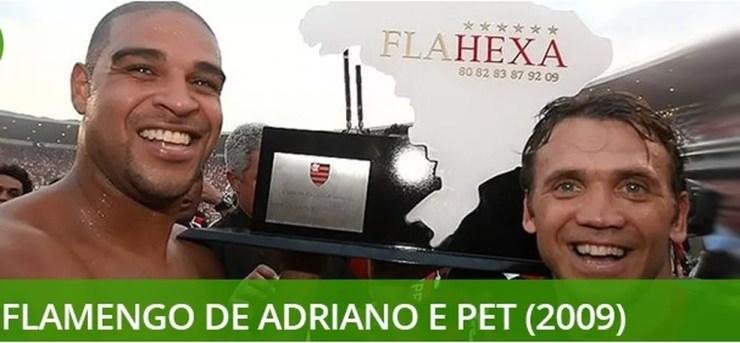 Melhores times do século Flamengo 2009 — Foto: Info Esporte