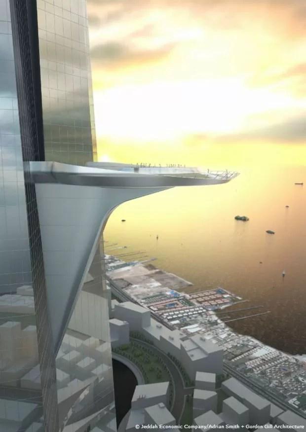 Prédio exigirá 80 mil toneladas de aço  (Foto: Jeddah Economic Company)