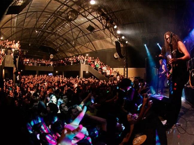 Festival Dosol acontece no Beach Club, em Natal — Foto: Rafael Passos/Cedida