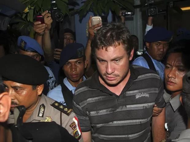 Matt Christopher foi detido após provocar alerta de sequestro no avião (Foto: Stringer/Reuters)