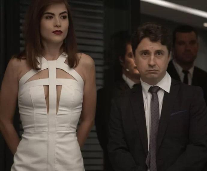 Que baphão!!! Sereno é o novo acionista da Pilartex! (Foto: TV Globo)