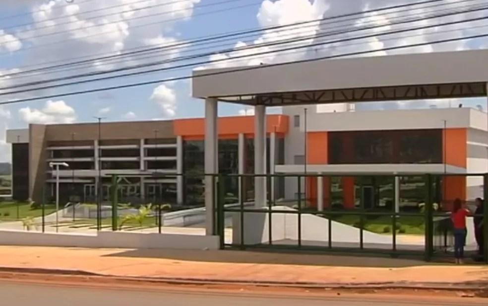 Maternidade Célia Câmara foi inaugurada oficialmente, em Goiânia — Foto: Reprodução/TV Anhanguera