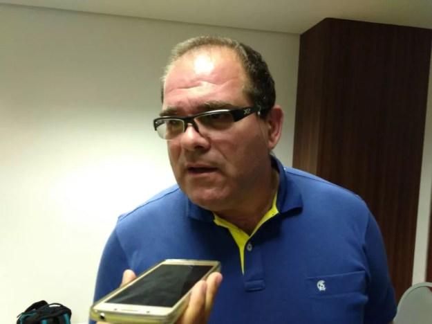 Marcelo de Jesus explicou que CSA tem na tecnologia um aliado para monitorar os atletas — Foto: Smack Neto / GloboEsporte.com