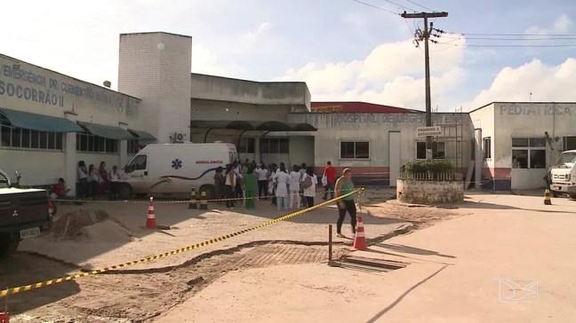 Hospital Municipal Clementino Moura (Socorrão II) — Foto: Reprodução/TV Mirante