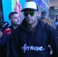 Neymar desembarca em Barcelona (Foto: Reprodução / Instagram)