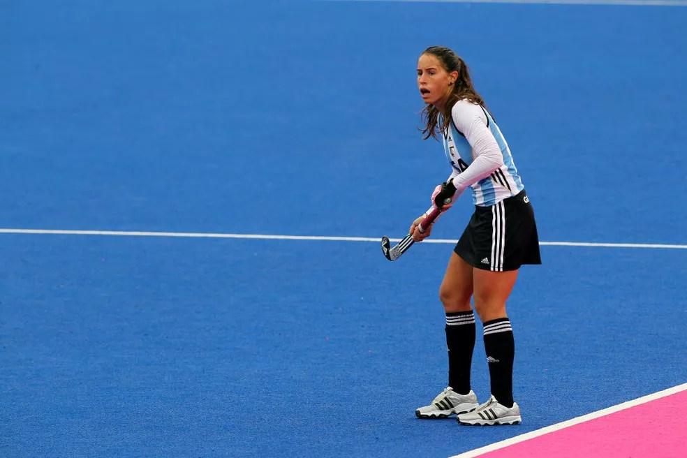 A argentina Sofia Maccari pela seleção — Foto: PA Images via Getty Images