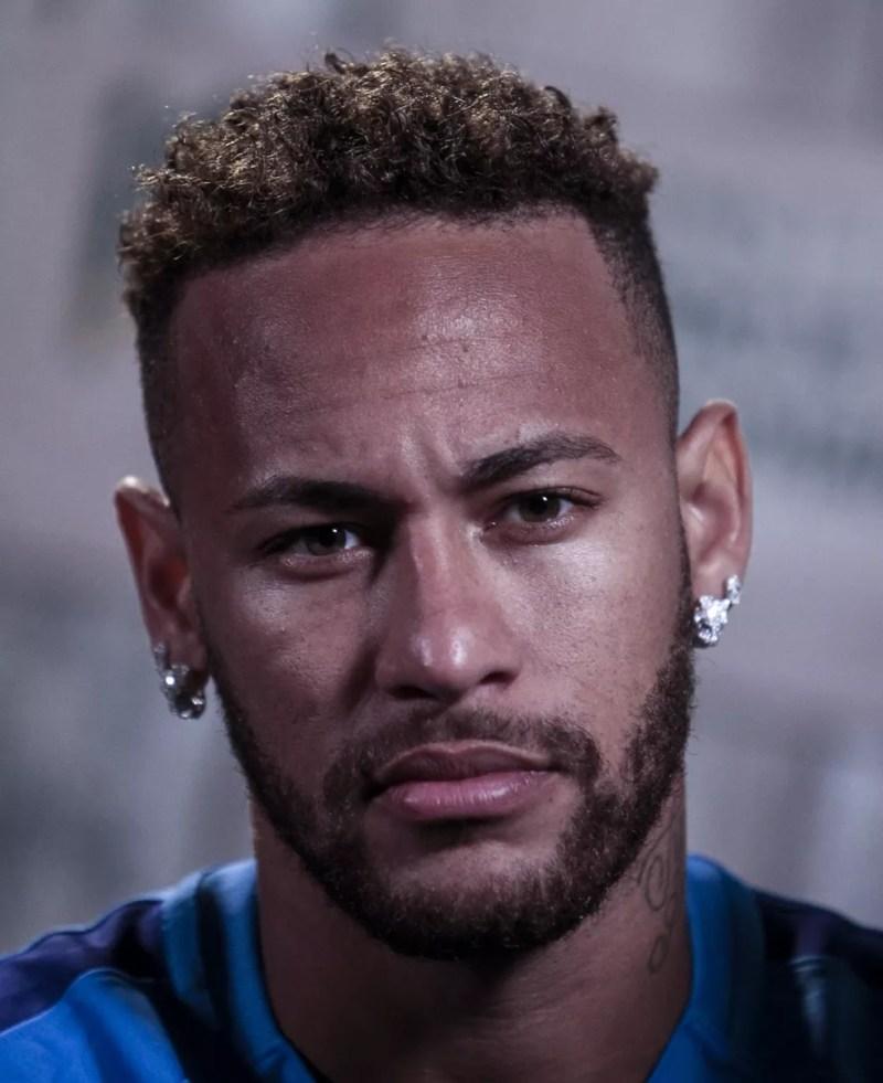 Neymar participou de evento do seu instituto no último fim de semana (Foto: Miguel Schincariol/AFP)