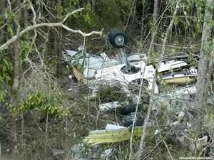 Avião da Gol que caiu em Mato Grosso em 2006 após bater em jato Legacy vitimou 154 pessoas. (Foto: FAB/Divulgação)