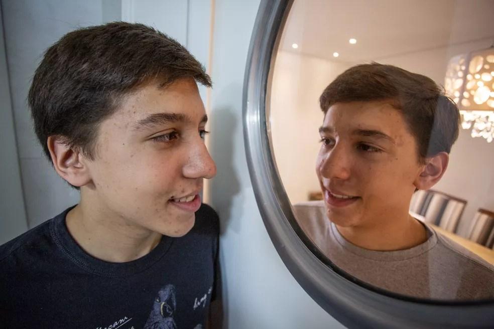Matheus e Thiago Cobucci, de 17 anos, aprovados em direito na USP — Foto: Fábio Tito/G1