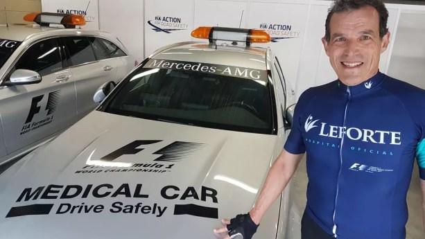 Dino Altmann, diretor médico do GP do Brasil de F1 — Foto: Divulgação