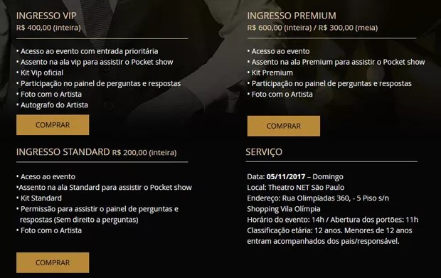 Projeto Belo Experience (Foto: Reprodução/Site)