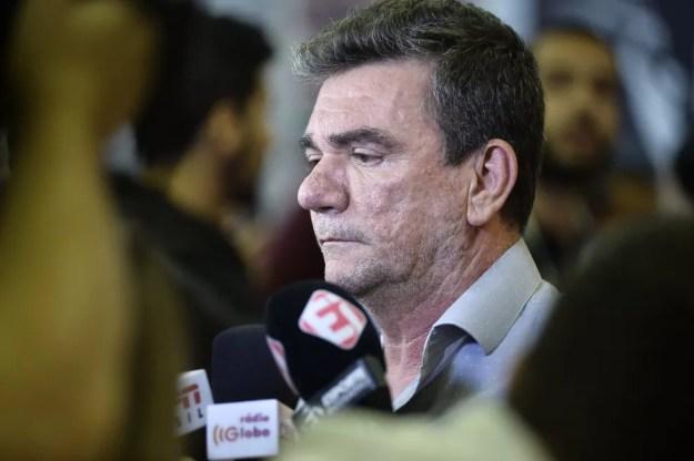 Andres Sanchez, presidente do Corinthians — Foto: Marcos Ribolli