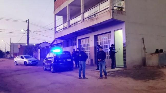 Operação Via Láctea investigou quadrilha responsável por roubo de cargas de queijos em Ipanema — Foto: Tarciane Vasconcelos/Inter TV dos Vales