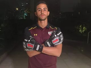 Renan Ribeiro, goleiro do São Paulo (Foto: Marcelo Hazan)