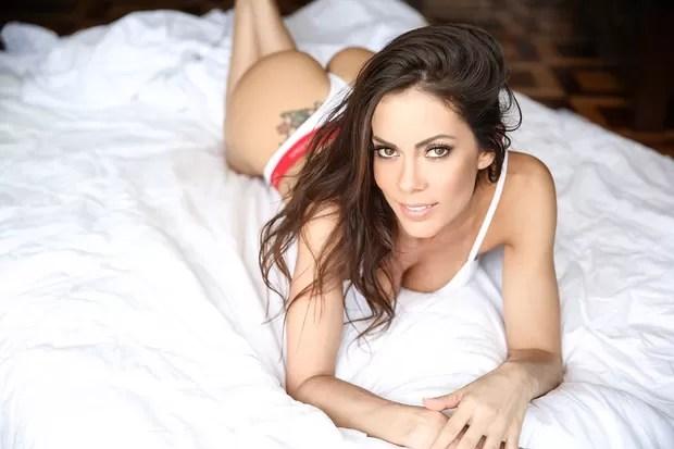 Bárbara Gomes, modelo concorrente do concurso Garota mais sexy do Brasil (Foto: Renato Moretti/Divulgação)