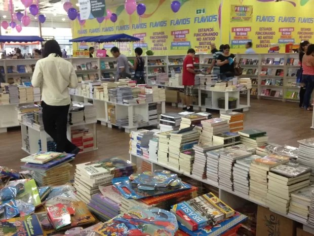 Feira de livros é opção para os amantes da leitura em Goiânia, Goiás (Foto: Divulgação/Araguaia Shopping)