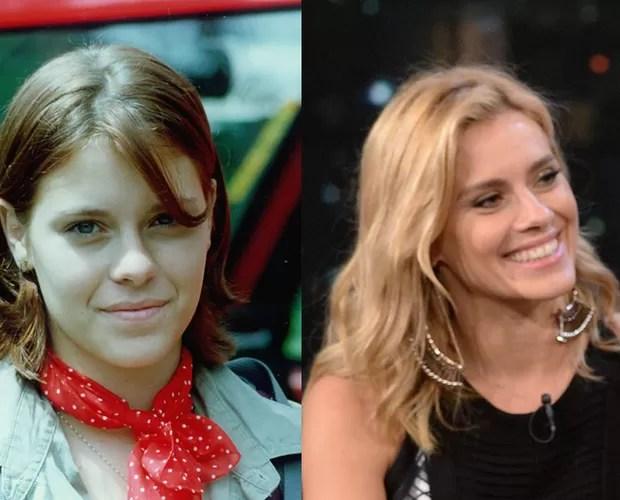 Carolina Dieckmann estava na primeira temporada de Malhação como a intrigueira July (Foto: CEDOC/Divulgação/TV Globo)