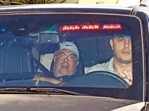 Lava Jato André Vargas preso PF Curitiba (Foto: Albari Rosa/Agência Gazeta do Povo/Estadão Conteúdo)