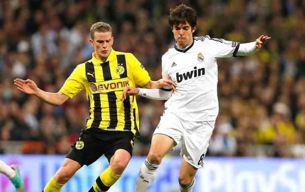 Kaká jogo Real Madrid Borussia Dortmund (Foto: AP)