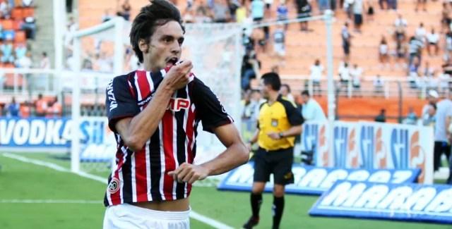 Rodrigo Caio Corinthians x São Paulo (Foto: Marcos Ribolli)