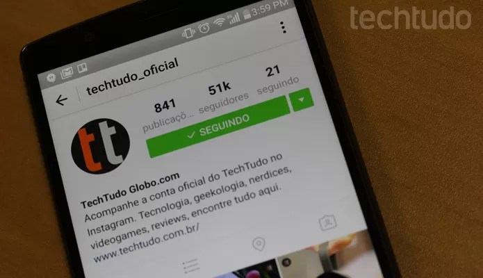 Instagram P&B (Foto: Melissa Cruz / TechTudo)